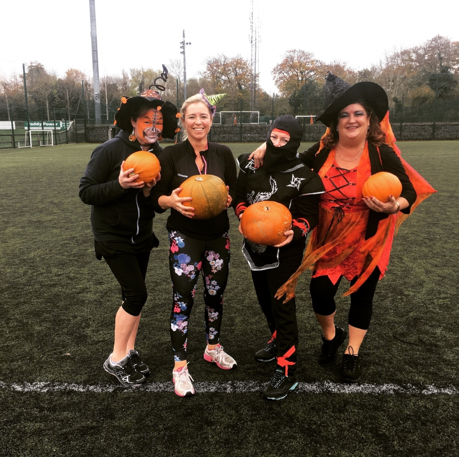 Our Halloween Workout ( My Favourite Thing We Do All Year...)